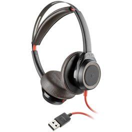 Casque filaire professionnel Poly Blackwire 7225 USB-A Noir