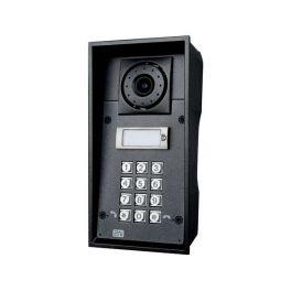 Interphone Helios IP Force 1 bouton, clavier et haut-parleur