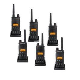 Pack de 6 talkies-walkies Motorola XT660d - Sans Chargeurs