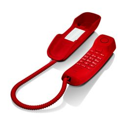 Téléphone analogique Gigaset DA210 (Rouge)