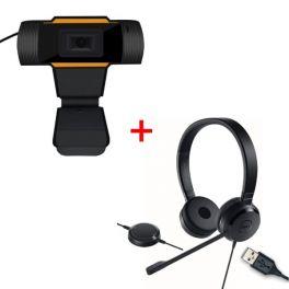 Pack Dell Pro UC150 USB + Webcam USB