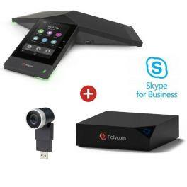 Poly Realpresence Trio 8500 Collaboration Kit met EagleEye Mini -Skype for Business