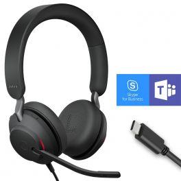 Jabra Evolve2 40 USB-C MS Duo