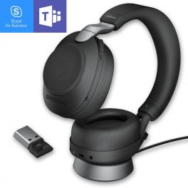 JabraGN - Evolve2 85 USB-A MS Duo Noir avec base