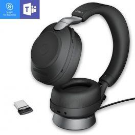 Jabra Evolve2 85 MS Duo Noir USB-C avec base