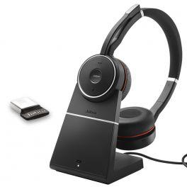 Jabra Evolve 75 USB UC Duo + Support
