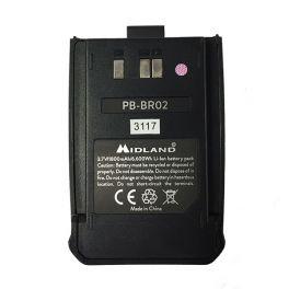 Batterie de remplacement pour Midland BR02