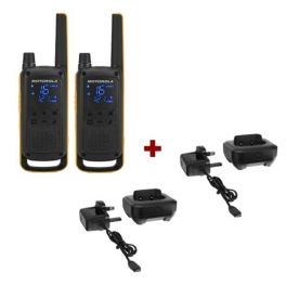 Pack Motorola TLKR T82 Extreme + Socles de charge (1)