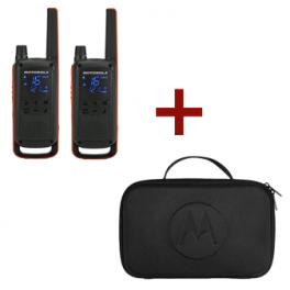 Motorola T82 Talkabout + Mallette de transport