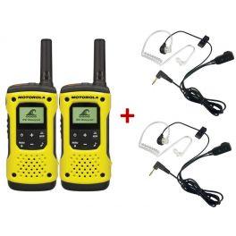 Motorola T92 Duo + 2 Kits bodyguard