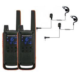 Pack de 2 Motorola TLKR T82 + Contour d'oreilles