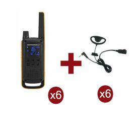 Pack de 6 Motorola Talkabout T82 Extreme