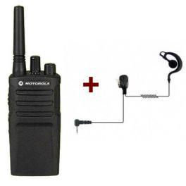 Talkie-Walkie Motorola XT420 + Oreillette PTT