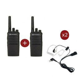 Pack Duo Motorola XT420 + 2 Kits Bodyguard