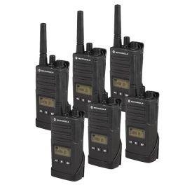 Pack de 6 Motorola XT460