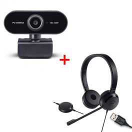 Pack - Dell - Pro UC150 + Midland - W199 Webcam
