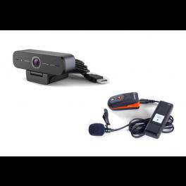 Pack Speechi - Micro-cravate MIC-001 + Webcam USB HD 90 Pro