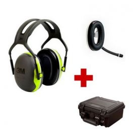 Pack de communication Bluetooth avec 3M Peltor X4