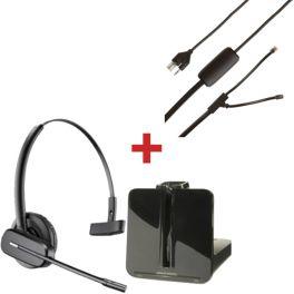 Pack Plantronics CS540 pour Polycom