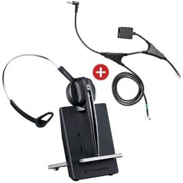 Pour téléphones Alcatel : Sennheiser D10 Phone + cordon décroché électronique EHS