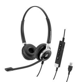 Micro-casque filaire binaural Sennheiser SC660 USB ANC