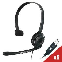 Pack de 5 casques USB Sennheiser PC 7