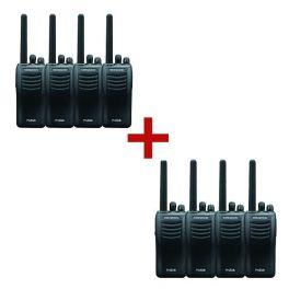 Kenwood TK-3501T ProTalk 446 Talkie-walkie 8-Pack