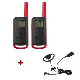 Pack de 2 Motorola T62 Rouge + Contour d'oreilles