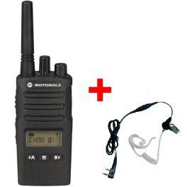 Talkie-Walkie Motorola XT460 avec Kit Bodyguard