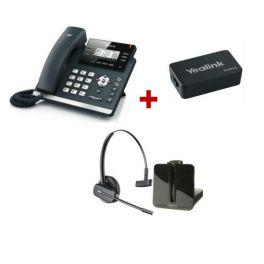 Pack Start Office: Plantronics CS540 + Yealink T41S